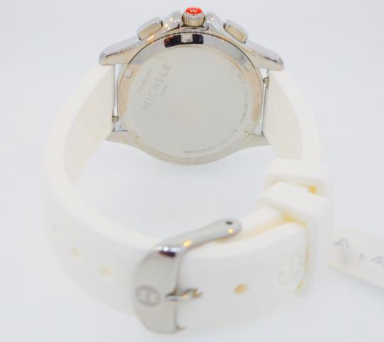Michele Cape Silicone Stainless Steel MWW27C000001 Watch Image 8