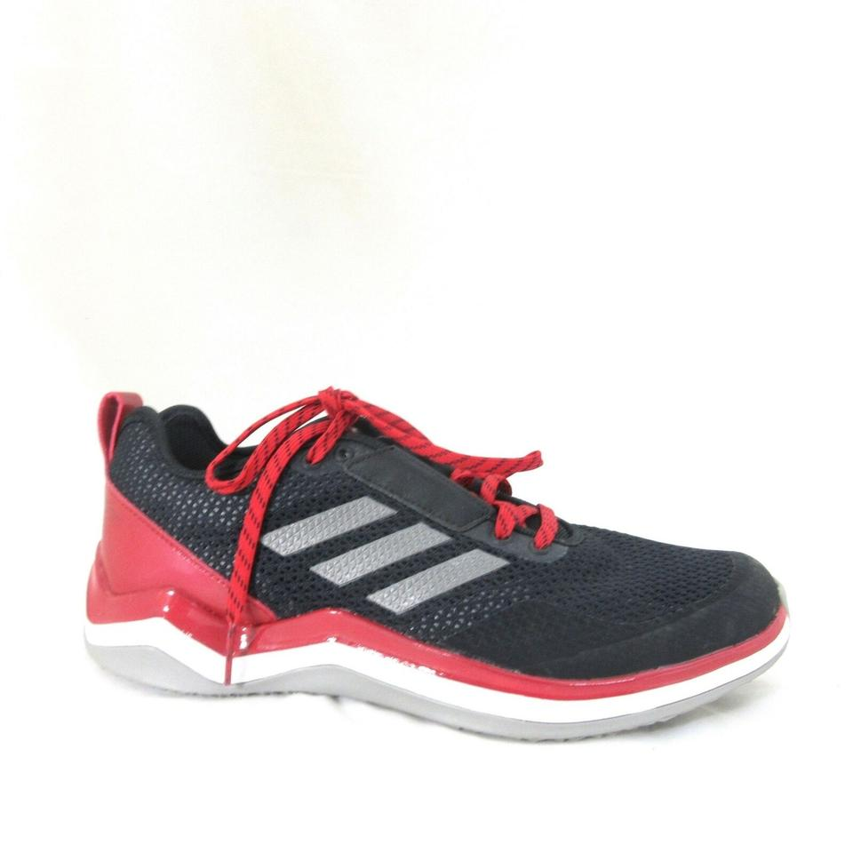 adidas Red and Black Mens New Speed Trainer 3.0 'core Red' Sneakers Size US 9 Regular (M, B)