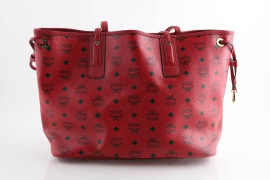 MCM Tote in Red Image 1
