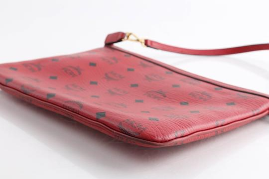 MCM Tote in Red Image 10