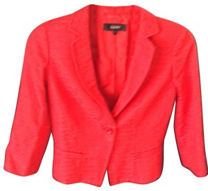 Julio bright red Blazer