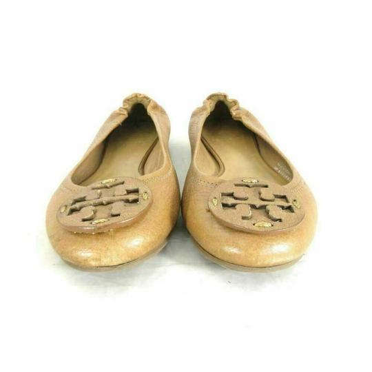 Tory Burch Vintage Bright Cute Gold Yellow Flats Image 1