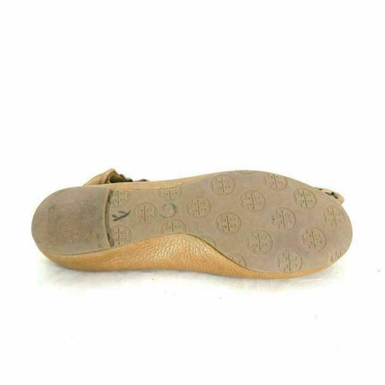 Tory Burch Vintage Bright Cute Gold Yellow Flats Image 4