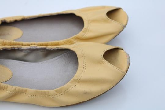 Cole Haan light yellow Flats Image 3