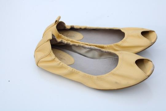 Cole Haan light yellow Flats Image 6
