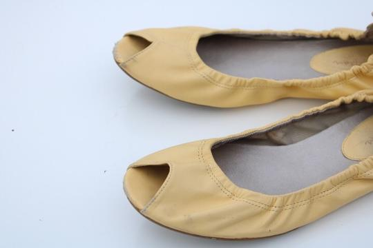 Cole Haan light yellow Flats Image 9