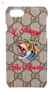 Gucci gg Gucci iphone 7 and 8 case cover with tiger head