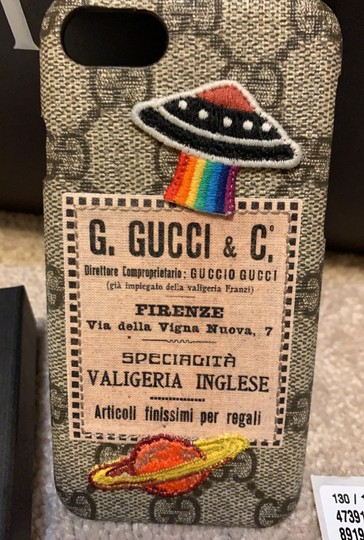 Gucci Gucci vintage spaceship iphone 7 case cover Image 8