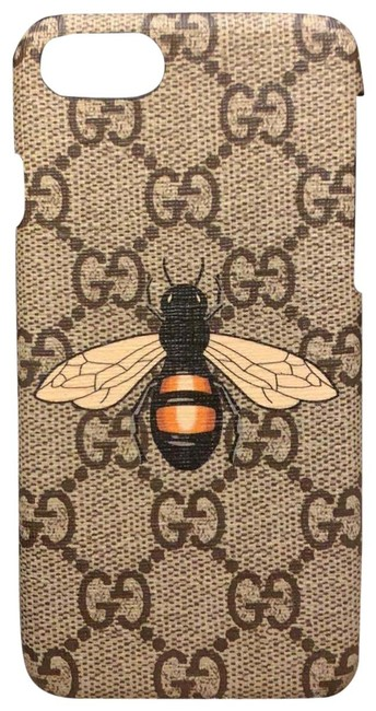 Item - Multi Colored Neutral Gg Bee Iphone 7 Case Cover Tech Accessory