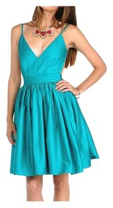 ONE by Contrarian Open Back Backless Cutout Fit And Flare Skater Dress