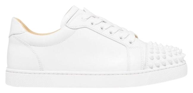 Item - White Viera Spikes Leather Sneakers Size EU 41 (Approx. US 11) Regular (M, B)