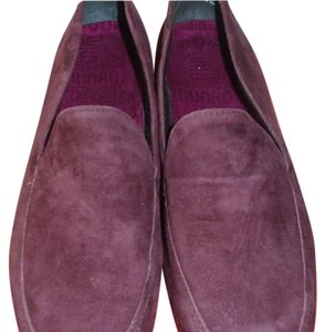 Munro American Walking Comfortable Plum Flats