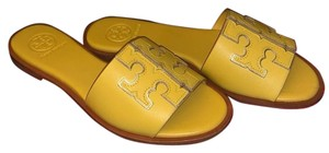 Tory Burch Yellow/Spark Gold Sandals