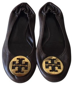 Tory Burch Chocolate Brown Flats