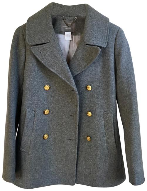 Item - Gray Stadium Cloth New Without Tag Majestic Coat Size 2 (XS)