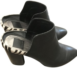 Dolce Vita Heels Black Leather Mules