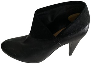 Coach Learher Suede Black Boots
