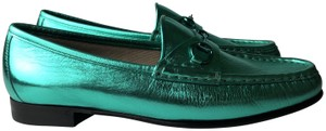 Gucci green Flats