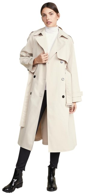 Item - Cream (Nwt) Double Breasted 'staple' Coat Size 8 (M)