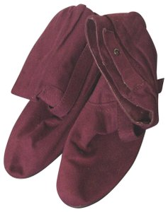Bongo Slouch Red Boots