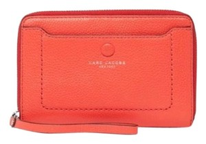 Marc by Marc Jacobs Marc Jacobs Zip Phone Leather Wristlet