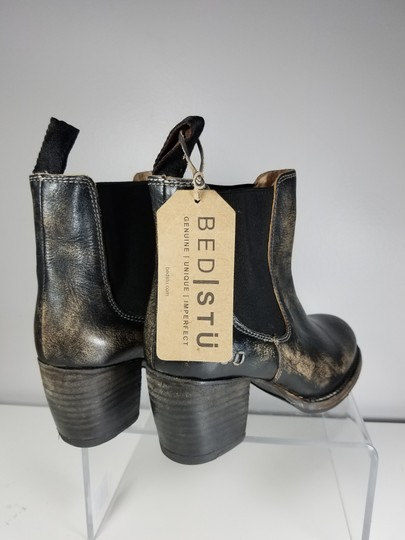 Bed|Stü black distressed Boots Image 3