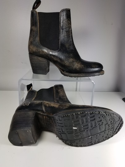 Bed|Stü black distressed Boots Image 4