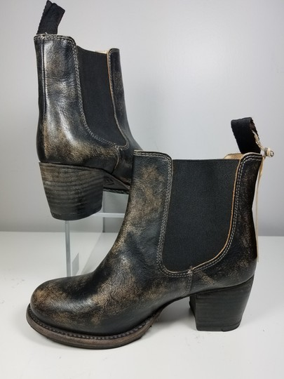 Bed|Stü black distressed Boots Image 6