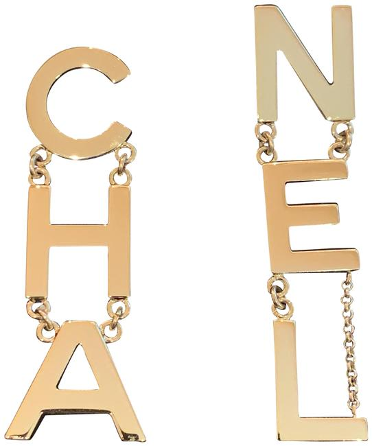 Item - Gold 2019 Runway Earrings