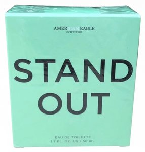 American Eagle Outfitters Stand Out 1.7 Oz Eau de Toilette Discontinued