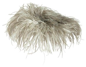 Cathy of California Cathay of California Vintage Ostrich Feather Derby Old Hollywood Glam