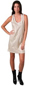 See by Chloé short dress White/gold on Tradesy