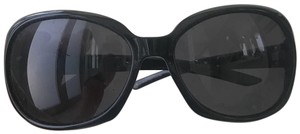 Valentino Sleek Black Frames with Silver Accents