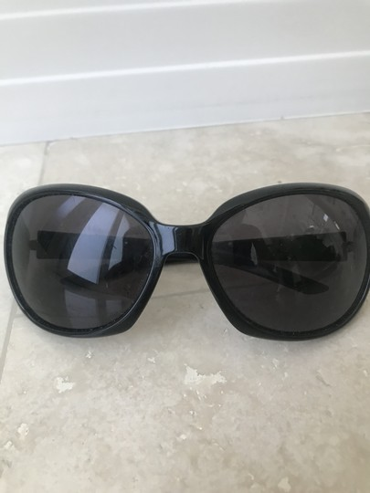 Valentino Sleek Black Frames with Silver Accents Image 1