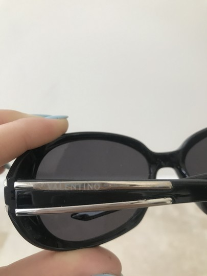 Valentino Sleek Black Frames with Silver Accents Image 3