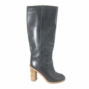 Madewell Sexy Leather Chic Black Boots