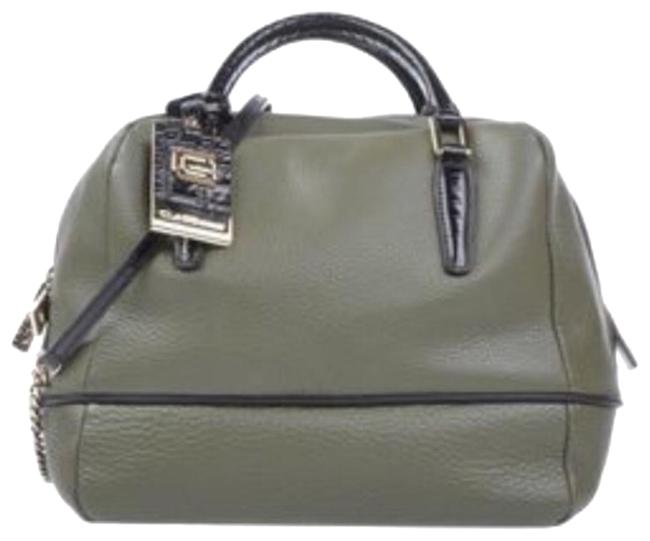 Item - Class By Military Green Leather Satchel