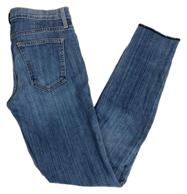 Item - Blue Light Wash The Rolled Yesterday Skinny Jeans Size 0 (XS, 25)