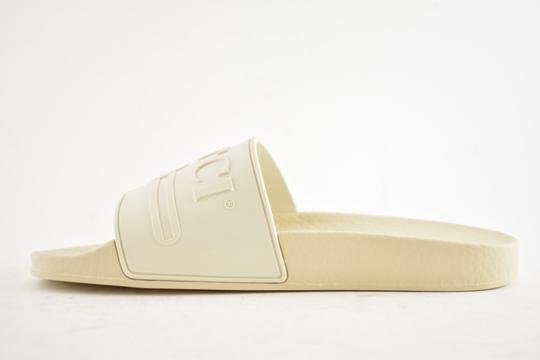 Gucci Loafer Mule Slide Flat Marmont white Sandals Image 7