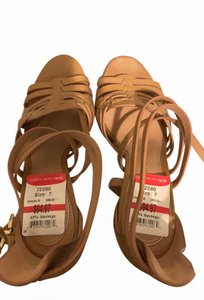 Vince Camuto tan Wedges