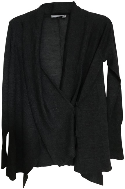 Preload https://img-static.tradesy.com/item/25921074/vince-carbon-wool-and-cashmere-knit-cardigan-size-4-s-0-1-650-650.jpg