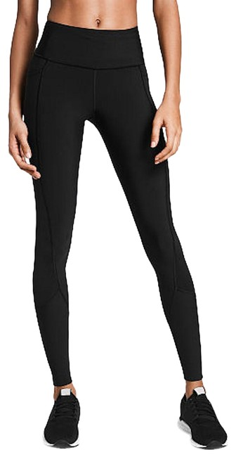 Item - Black Sport Vsx Knockout Solid Active Leggings Tights Pants Size 2 (XS, 26)