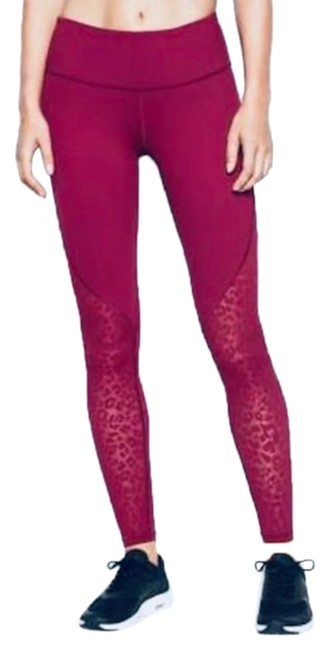 Item - Red Sport Maroon Knockout Workout Tights Pants Size 6 (S, 28)