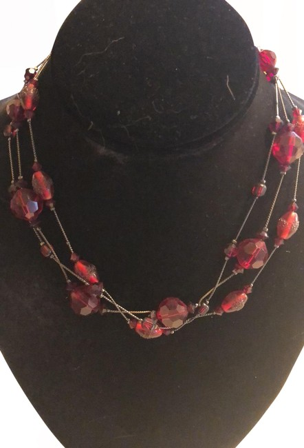 Item - Red 123 Necklace