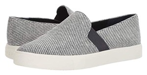 Vince Sneakers Slip On Coastal White Woven Fabric Athletic