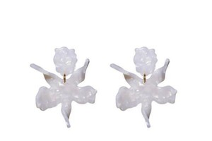 Lele Sadoughi Small Water Lily Earring