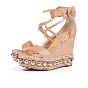 quality design fc6b8 ea703 Christian Louboutin Wedges - Up to 70% off at Tradesy