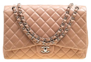 Chanel Leather Quilted Dusty Classic Shoulder Bag