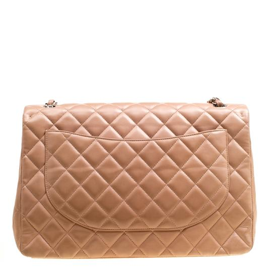 Chanel Leather Quilted Dusty Classic Shoulder Bag Image 1