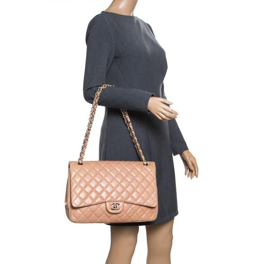Chanel Leather Quilted Dusty Classic Shoulder Bag Image 2